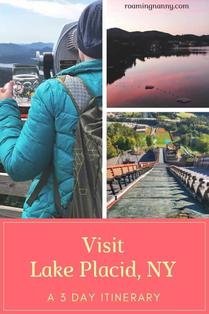 Lake Placid is the perfect weekend getaway spot in Upstate New York. If you like the outdoors and relaxing you should visit Lake Placid.