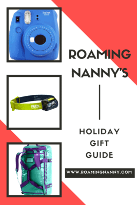 Roaming Nanny's Holiday Gift Guide