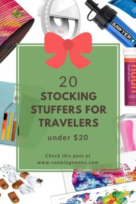 20 Stocking Stuffers for Travelers under $20