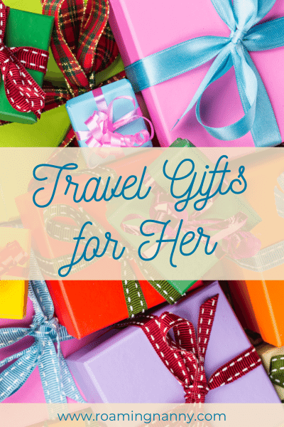 Looking for the perfect travel gift for her? Look no further, I've put together a collect of amazing travel gifts for the woman in your life. #travelgifts #giftguide