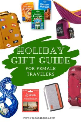 Holiday Gift Guide for Female Travelers