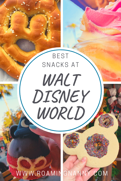 With so many delicious snacks at Walt Disney World, you probably won't have time to eat them all. Here are the BEST Disney snacks at WDW. #waltdisneyworld #wdw #disneysnacks #disney #disneyworld