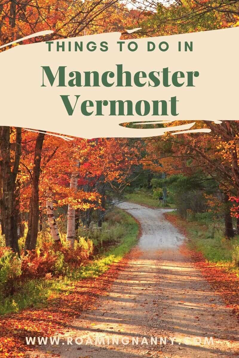 Manchester Vermont is nestled in a valley in southern Vermont surrounded by mountains. Here is a list of things to do on your next visit to Manchester VT #manchestervt #vermont #visitvermont