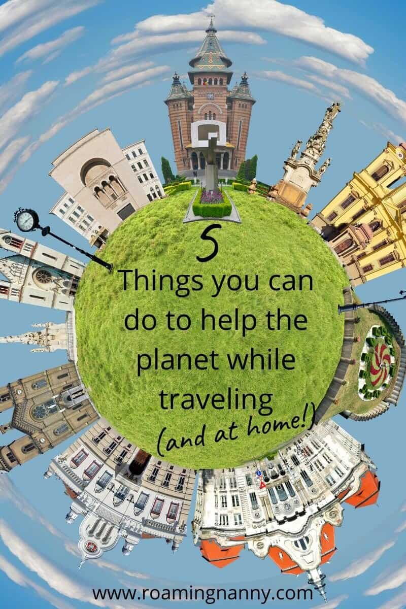 Our planet is in crisis and we're the only ones that can help. Here are 5 ways you can help mother earth while traveling (and at home). #planet #sustainability #sustainabletravel #motherearth #earth