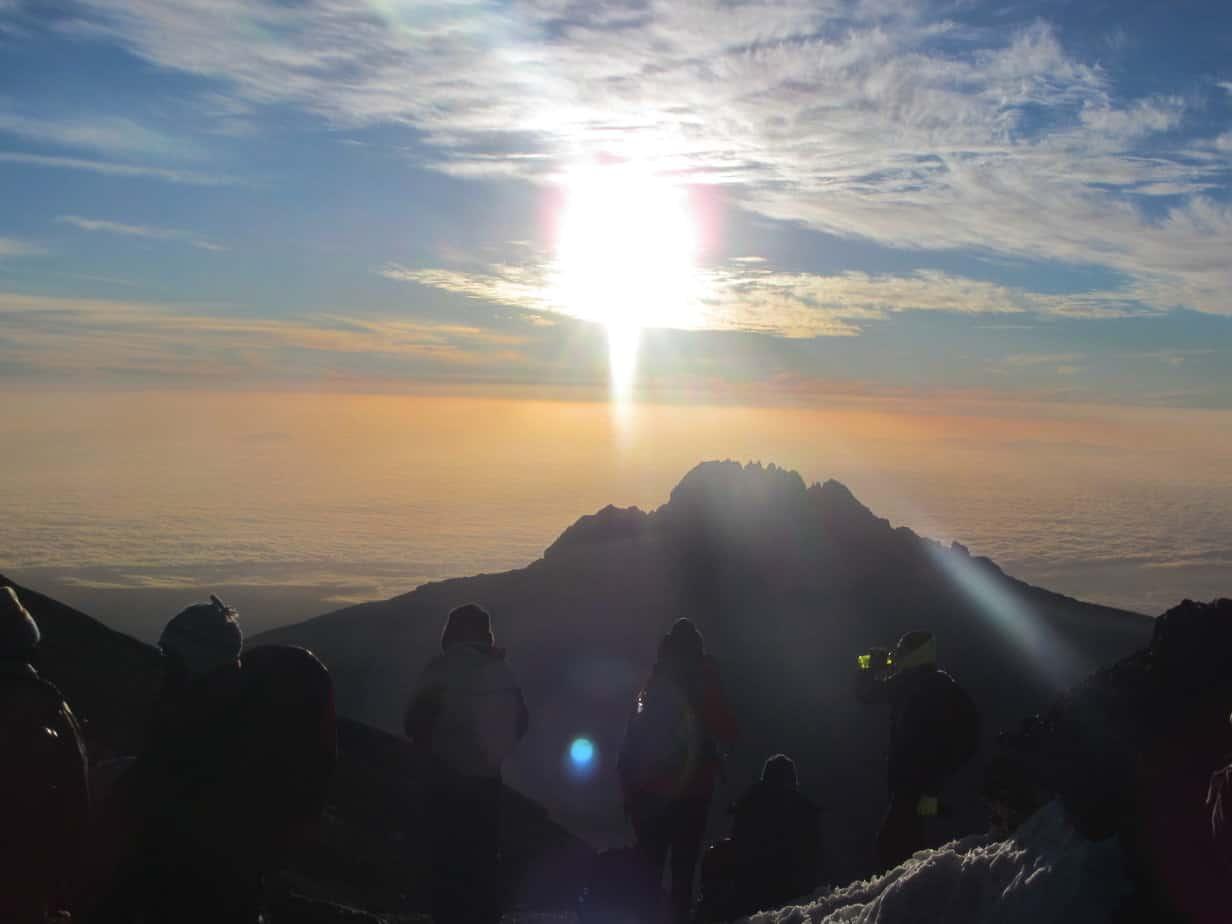 Hiking Mount Kilimanjaro: Day 6 Sunrise at Stella Point