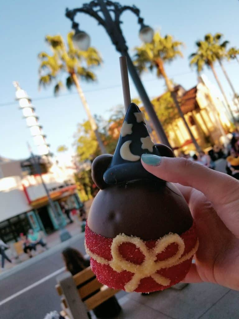 Mickey Candy Apples