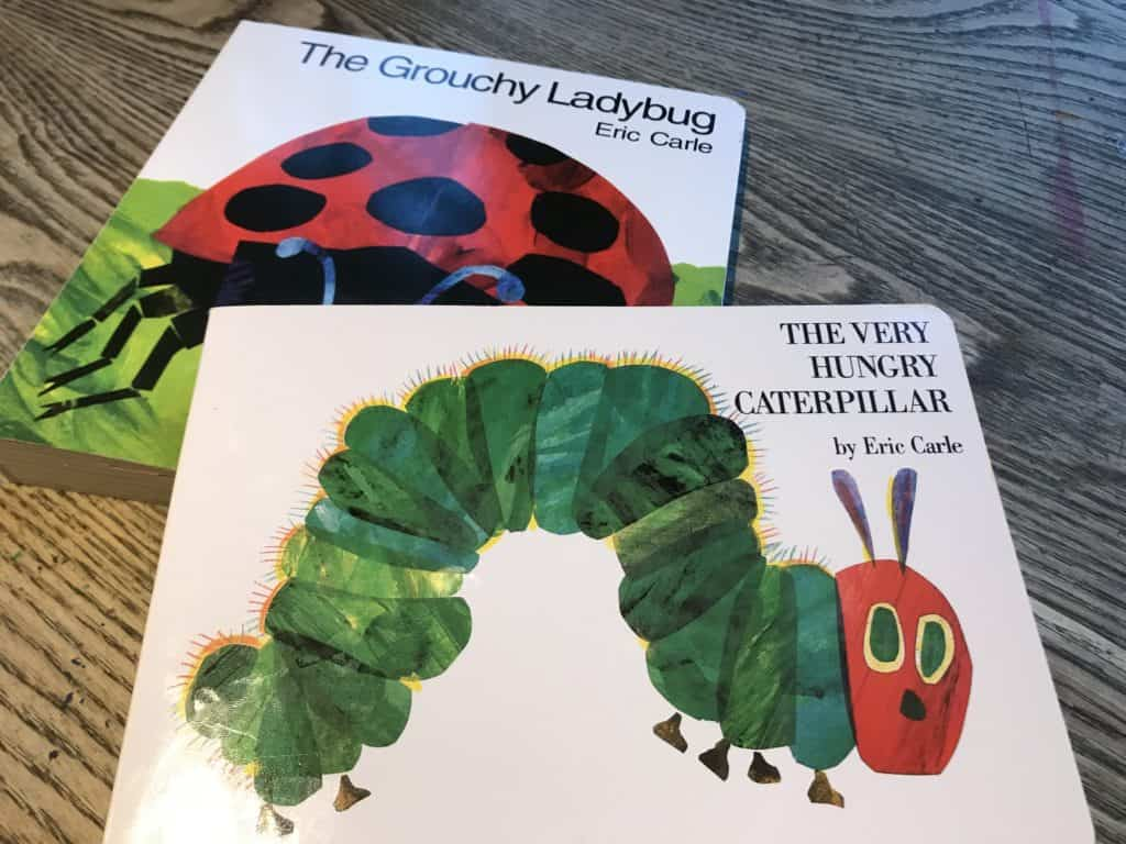 books about insect life cycles
