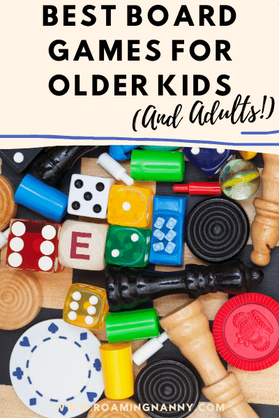 Looking for the best board games for older kids? Here are some of my favorites that will make kids and adults happy!