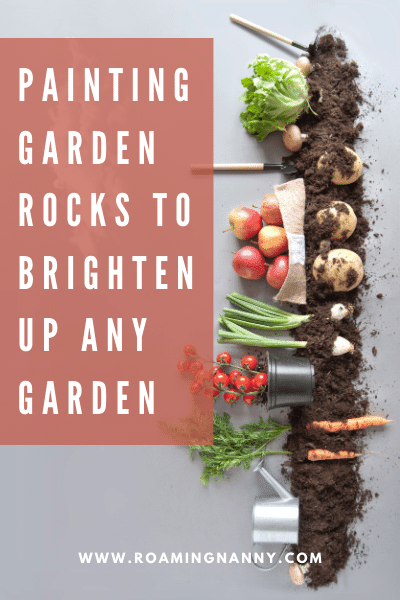 Brighten up any garden by painting garden rocks. Collect them and get creative. The kids will love painting and the project is super easy!