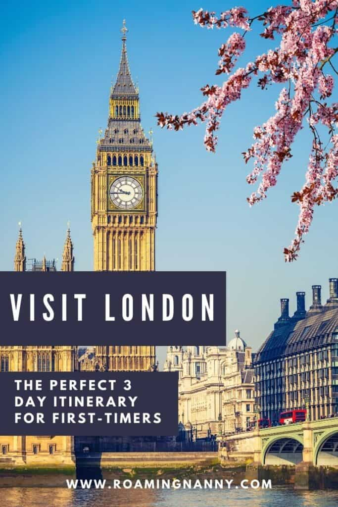 London is a must visit destination for travelers. Here's a 3 day London itinerary to help you make the most of your time there!