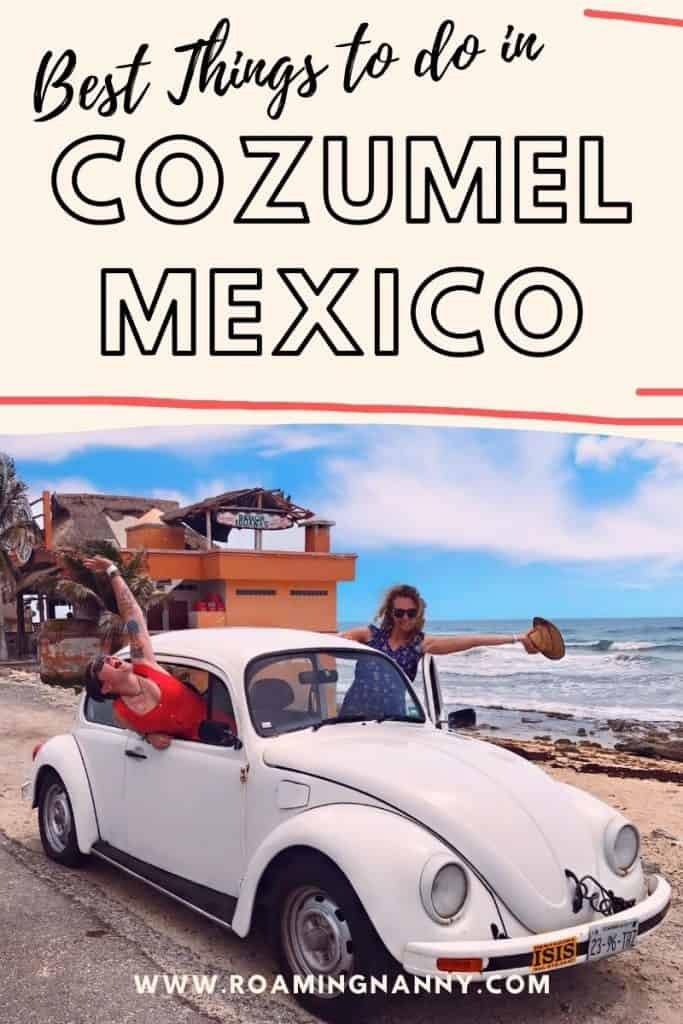 Cozumel, Mexico is more than a cruise destination. Some of the best things to do in Cozumel include scuba diving, plenty of adventure, and amazing food.