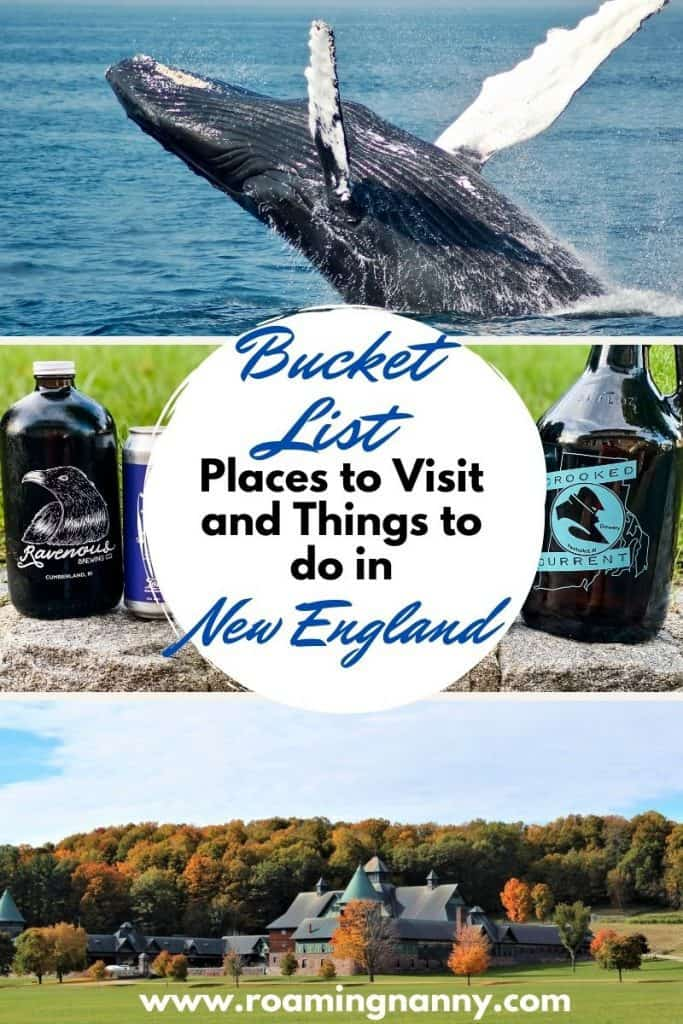 While it may be tiny trust me when I say there are plenty of bucket list places to visit and things to do in New England.