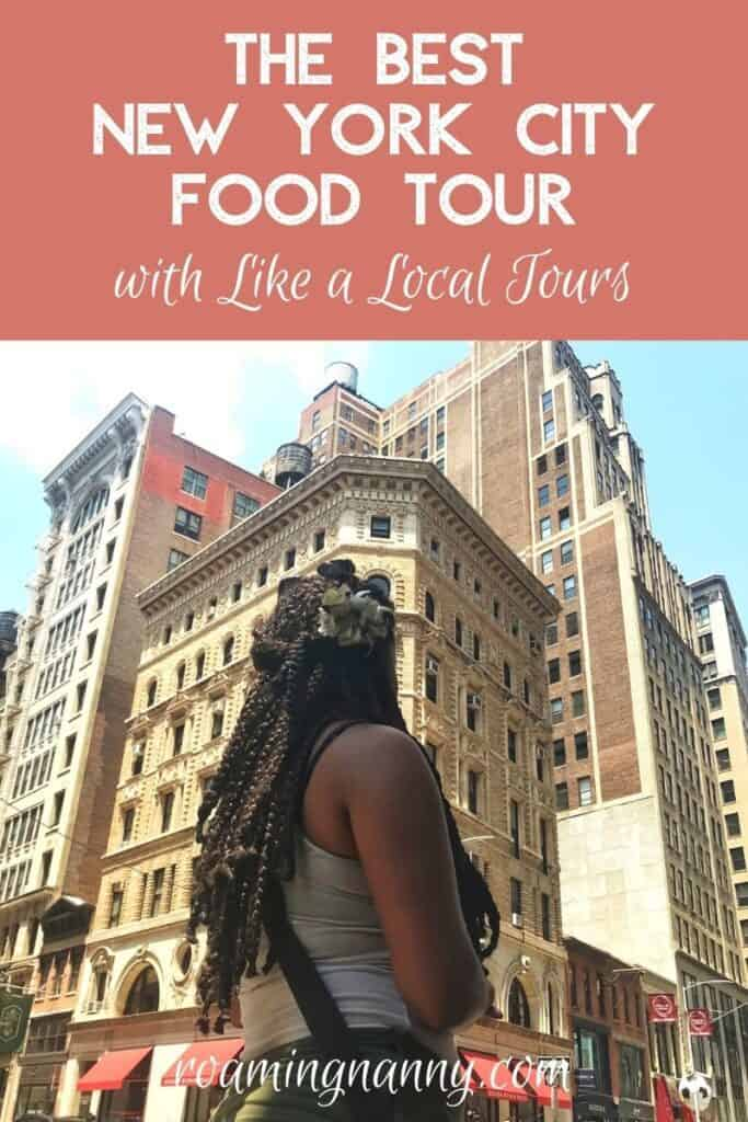 I love delicious food and New York, so join my friend and I to taste this legendary city on an NYC food tour with Like a Local Tours.