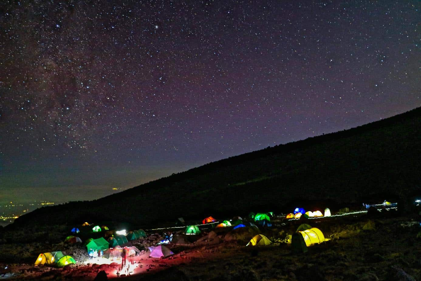 routes up Kilimanjaro