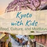 Exploring Kyoto with Kids: Food, Culture, and Monkeys